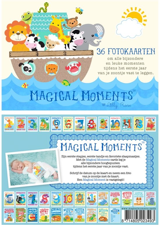 Magical Moments Fotokaarten Box - Baby Jongen