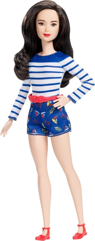 Barbie Fashionistas Doll 61 Nice In Nautical - PETITE