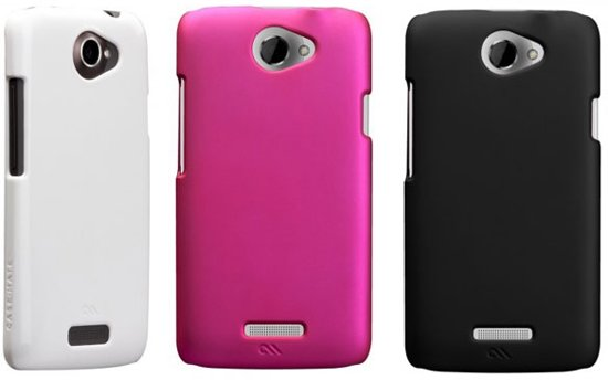 Case-Mate Barely There Case voor HTC One X - Wit