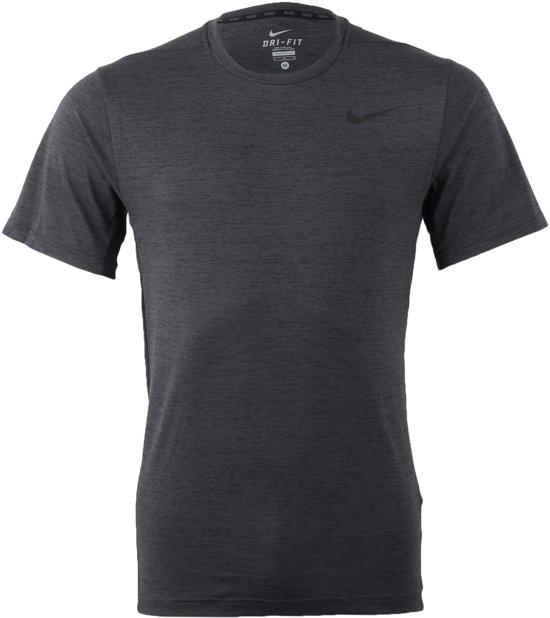 Nike Dri-Fit Sportshirt - Maat L  - Mannen - grijs