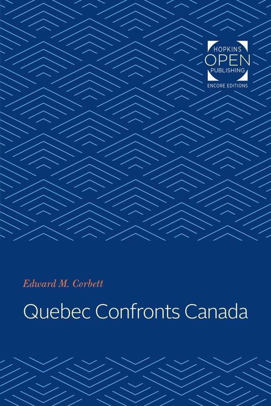 Québec Confronts Canada