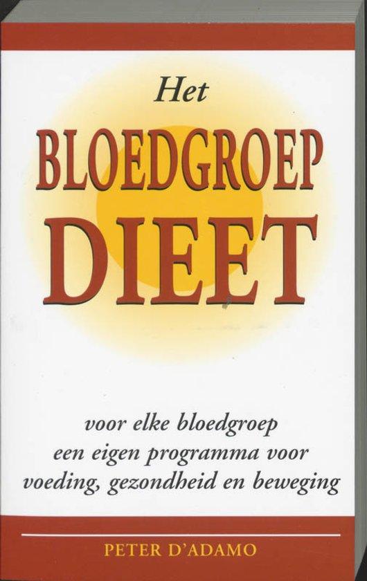 Het bloedgroep dieet