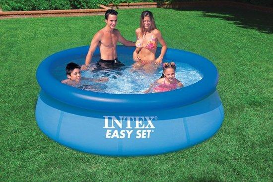 intex Easy Set zwembad 244 x 76 cm-Zonder filterpomp (met reparatiesetje)
