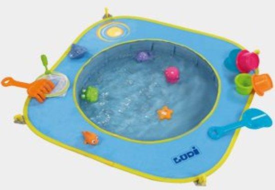 Handdoek Met Opblaasrand.Baby Strand Zwembadje Ludi