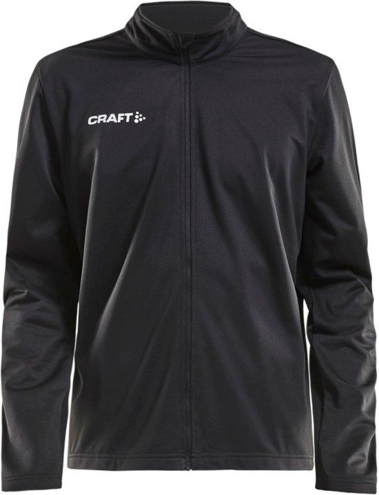 Craft Squad Trainingsjas Heren  Sportjas - Maat L  - Mannen - zwart