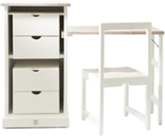 Bol.com riviera maison long key folding desk and chair bureau en