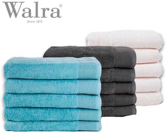bol | walra handdoeken 5-pack - 50x100 cm. - katoen - wit / off