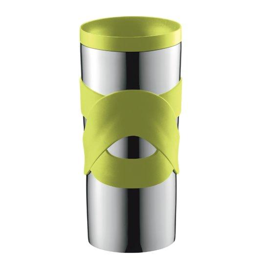 bodum travel mug thermosbeker l rvs limoen groen. Black Bedroom Furniture Sets. Home Design Ideas