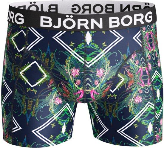 Bjorn Borg - Naito Microfiber Boxershort Blauw-L