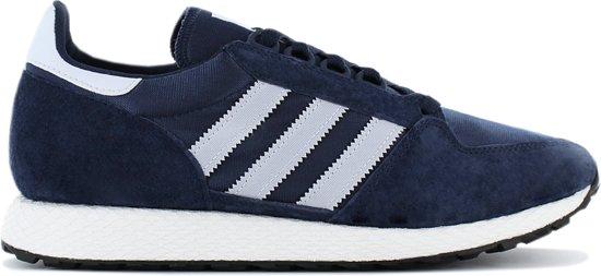 adidas Originals Forest Grove D96630 Sneakers Sportschoenen Schoenen Blauw  - Maat EU 44 UK 9.5