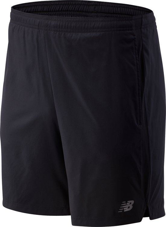 New Balance ACCELERATE 7IN SHORT Heren Sportbroek - Black - XL