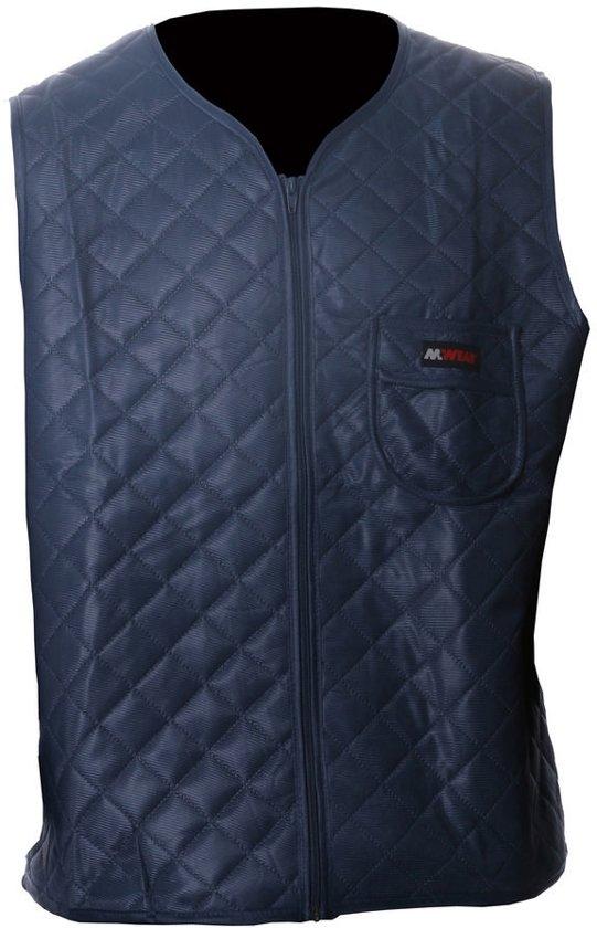 M-Wear thermo vest 2170 blauw maat XXXL