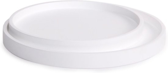 XLBoom Low Tray set/2 plateau rond wit
