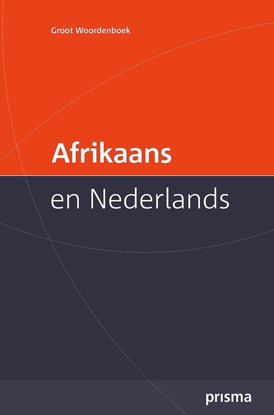 betekenis van woorde in afrikaans
