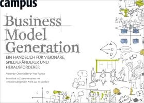 Boek cover Business Model Generation van Alexander Osterwalder (Paperback)
