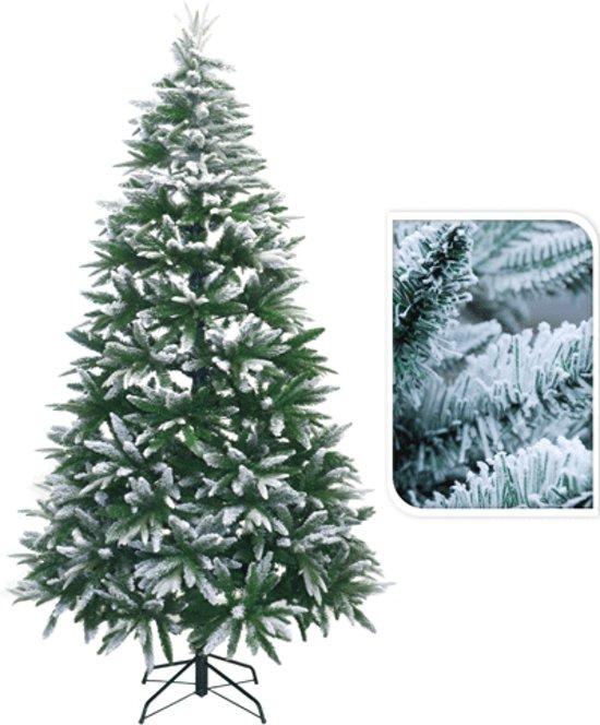 Kerstboom besneeuwd 210 cm