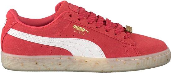 1f45c31b32a bol.com | Puma - Dames Sneakers Suede Classic BBoy Fab Wn's - Rood ...