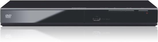 Panasonic DVD-S500EG - DVD speler met USB aansluiting - Zwart