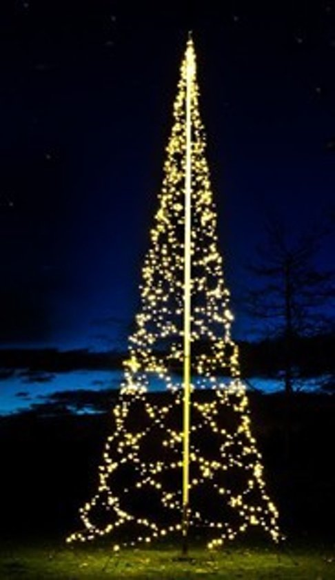 bol | fairybell kerstverlichting buiten 800cm-1200led warm white