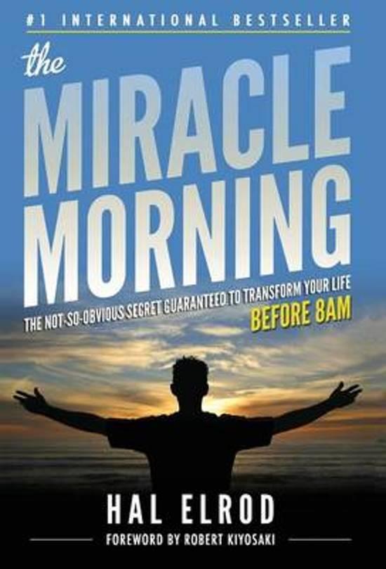 Boek cover The Miracle Morning van Hal Elrod (Hardcover)