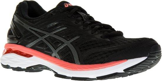 Asics GT-2000 5  Hardloopschoenen - Maat 39 - Vrouwen - zwart/grijs/roze