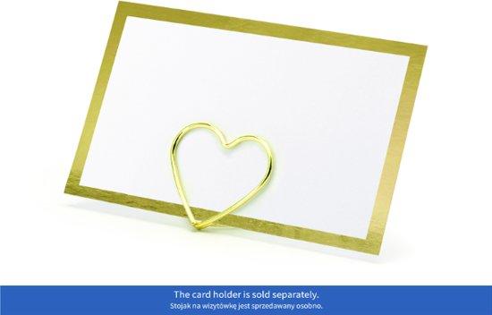 Naamkaartje Frame Gold (10 stuks)
