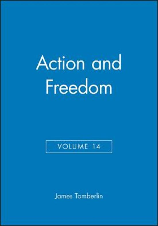 Action and Freedom, Volume 14