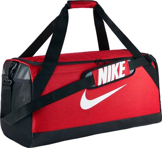 Nike Brasilia Medium Sporttas - Rood