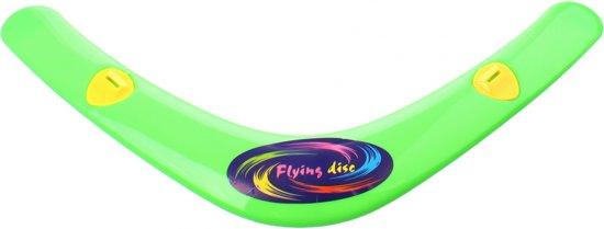 Jonotoys Flying Disc Boomerang Met Fluit 38 Cm Groen