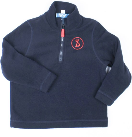 Sint-Ludgardis schooluniform - Fleece - Donkerblauw - Maat XXS/12 jaar