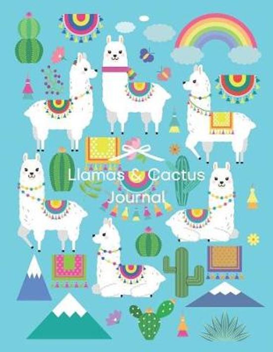 Llamas & Cactus Journal