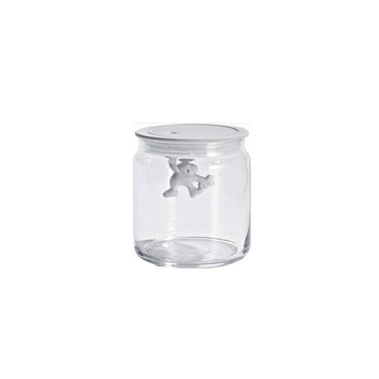 Pot Met Deksel.Bol Com Alessi Gianni Glazen Pot Met Deksel 12 Cm Wit