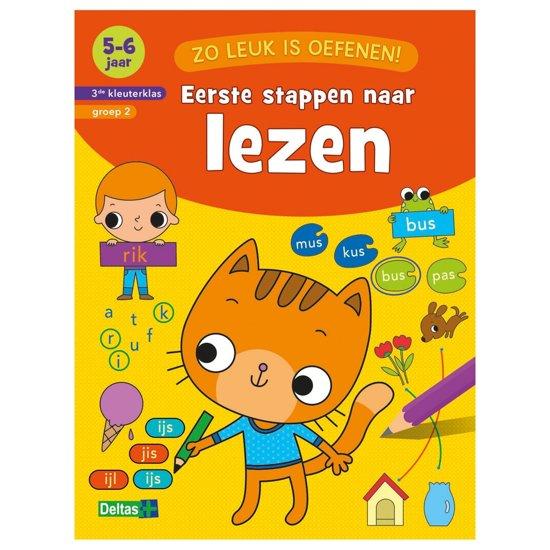 Boek cover Zo leuk is oefenen! - Eerste stappen naar lezen 5-6 jaar van ZNU (Onbekend)