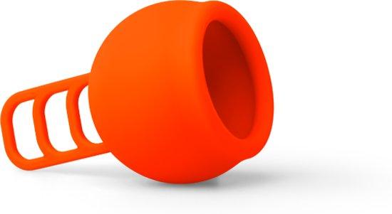 Merula menstruatie cup fox oranje - menstruatiecup