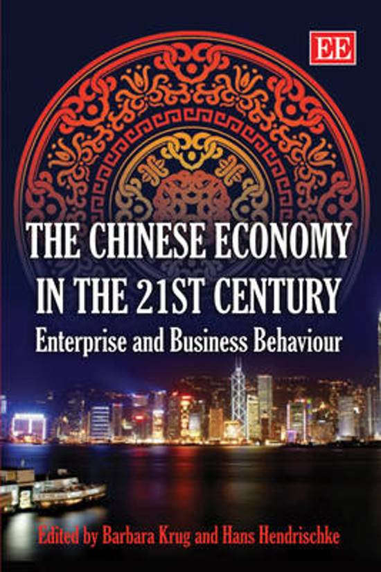 The Chinese Economy in the 21st Century