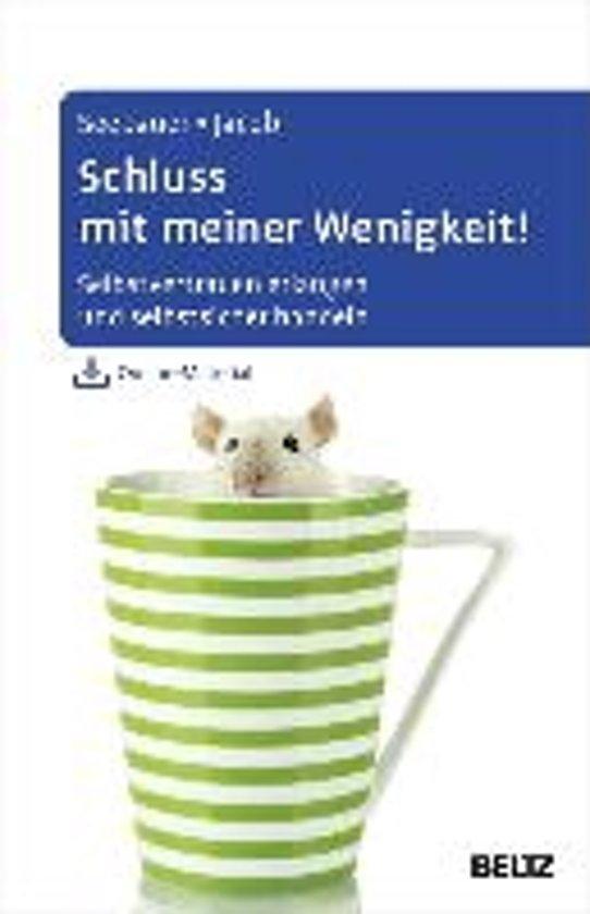 Boek cover Schluss mit meiner Wenigkeit! van Laura Seebauer (Hardcover)