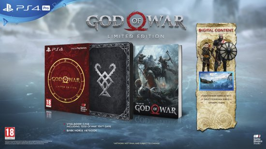 God of War - Limited Edition - PS4