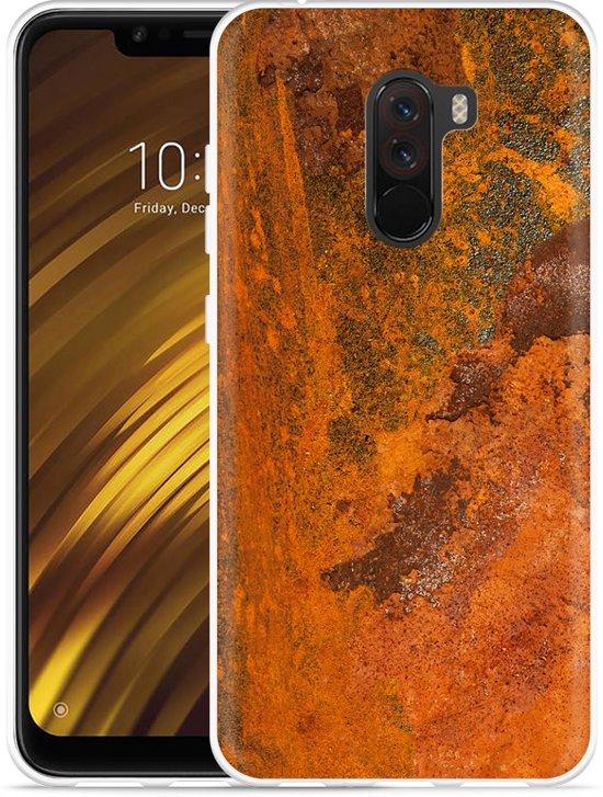 Xiaomi Pocophone F1 Hoesje roestig metaal