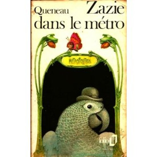 Zazie dans le métro (collection Folio no.103)