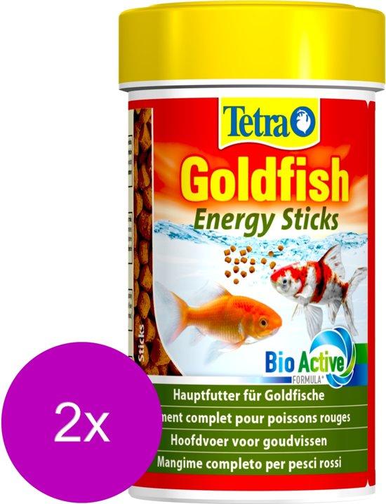 Tetra Animin Goldfish Energy Sticks - 2 St à 48 gr - Visvoer