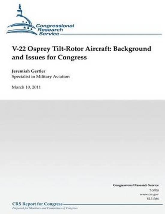 V-22 Osprey Tilt-Rotor Aircraft