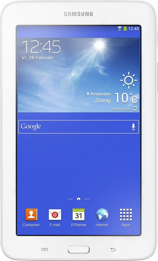 Samsung Galaxy Tab 3 Lite VE - 7 inch - Wit - Tablet