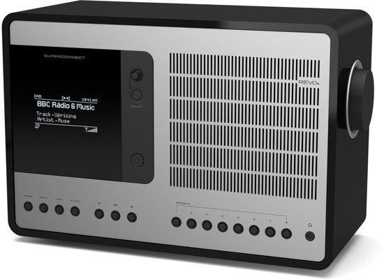 Revo SuperConnect - DAB+ - internet radio en Spotify -