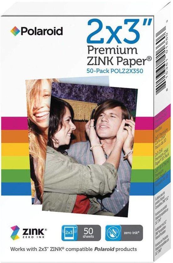 Bolcom Polaroid Premium Zink Zero Papier Voor Polaroid Cameras