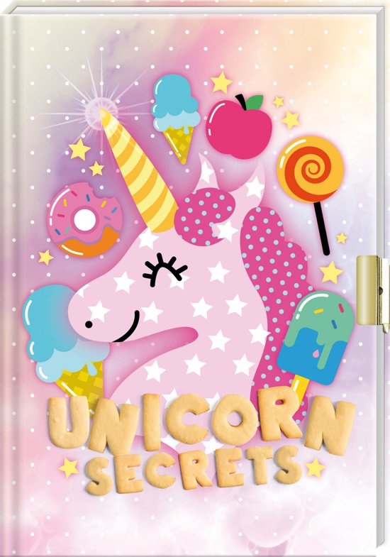 FANTASYEMOJI Vriendenboek Unicorn