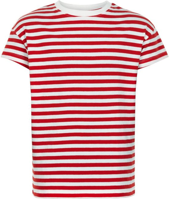 The New t-shirt meisjes - rood - Kimberly - maat 122/128