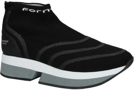 hoge sneakers dames zwart