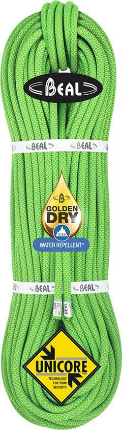 Beal Opera 8.5 Golden Dry enkel- dubbel en tweelingtouw Groen 60 meter