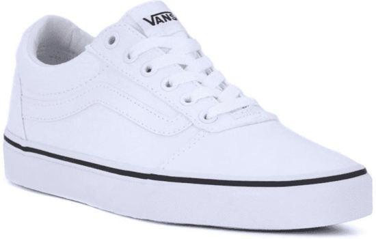Vans 40canvasWhite DamesMaat white Ward Sneakers OPXkiuZ