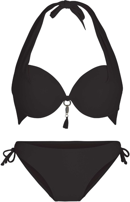 LingaDore 4114 SUMMER Halternek bikini set - Maat 38B- Blauw